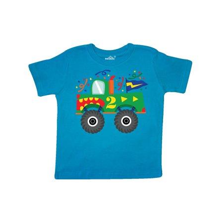 2nd Birthday Monster Truck Toddler T Shirt