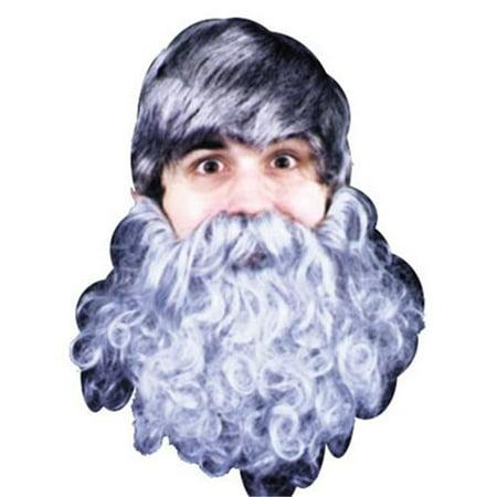 Beard Curly Black - Curly Beard