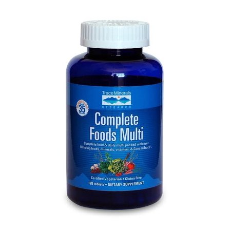 Living Multivitamin - Complete Foods Multi Trace Minerals 120 Tabs