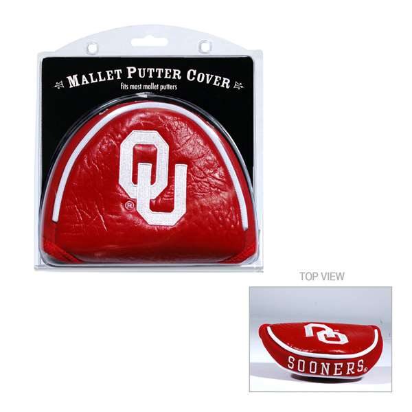Team Golf NCAA Oklahoma Golf Mallet Putter Cover by Generic