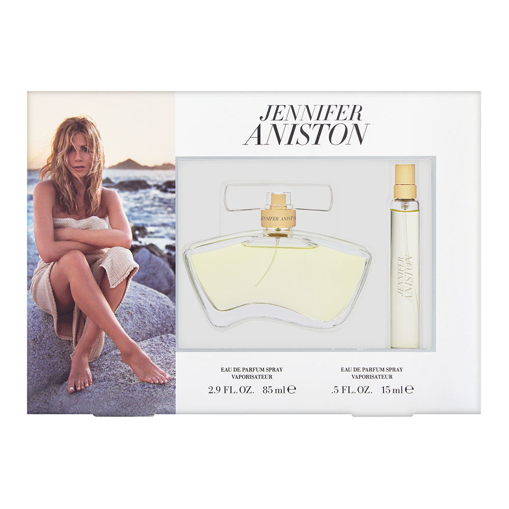 Jennifer Aniston by Jennifer Aniston for Women 2 Piece Set Includes: 2.9 oz Eau de Parfum Spray + 0.5 oz Eau de Parfum Spray