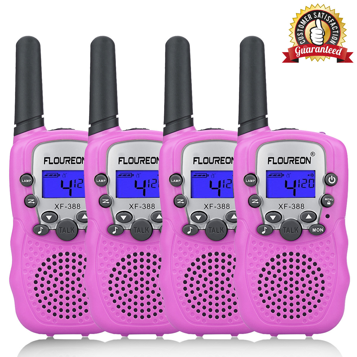 Ryans World FRS Walkie Talkies for Kids with Lights and Sounds Kid Friendly Easy to Use Kid Designs