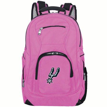 NBA San Antonio Spurs Pink Premium Laptop Backpack ()