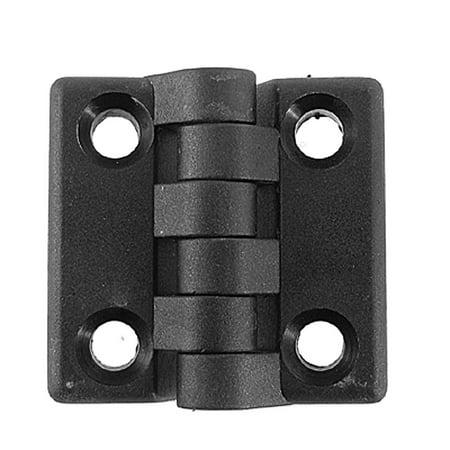 Dor O-matic Door - Uxcell 2 Pcs Single Action Dor Round Corner  Hinges 47 x 47mm
