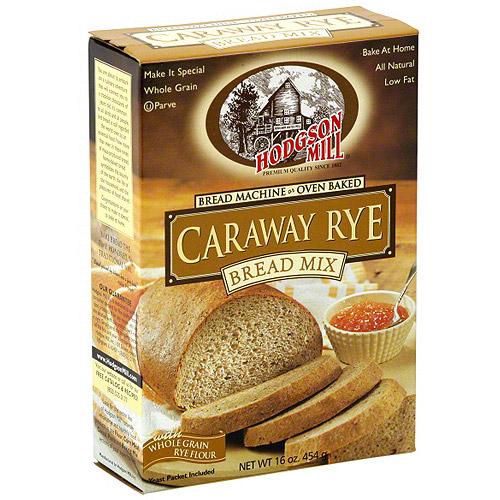 Hodgson Mill Caraway Rye Bread Mix, 16 oz (Pack of 6)