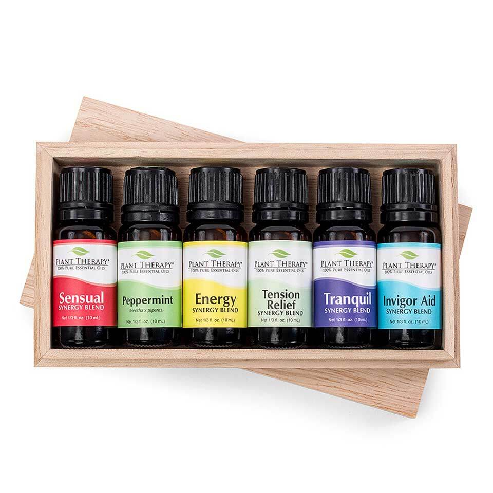 Plant Therapy Romance Essential Oil Set of 6, 10 mL (1/3 fl. oz.) each, 100% Pure, Undiluted, Therapeutic Grade