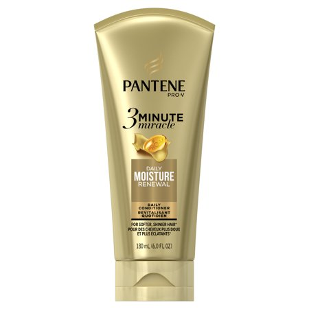 Pantene Daily Moisture Renewal 3 Minute Miracle Daily Conditioner, 6.0 fl oz