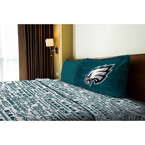 NFL Anthem Bedding Sheet Set, Eagles