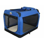 Go Pet Club AC20 20 in. Blue Soft Portable Pet Carrier