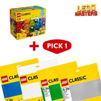 LEGO Masters: Classic Bricks on a Roll & Baseplate Bundle