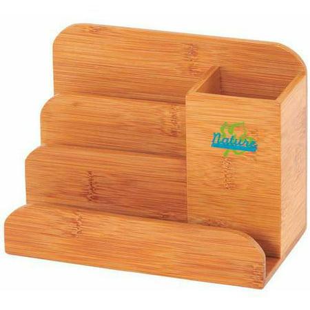 Sandusky Buddy Bamboo Desk Organizer