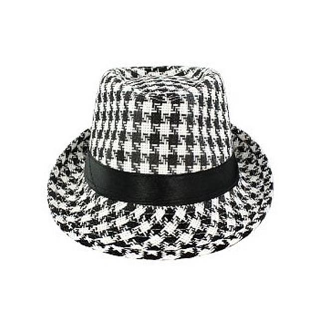 Faddism Fashion Hat Features Plaid Design