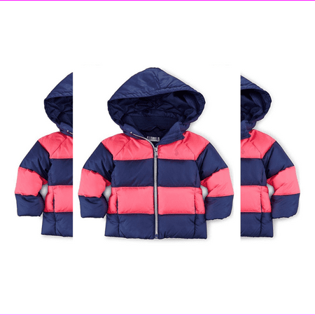 Ralph Lauren Baby Girls' Rugby Quilted Down Jacket, 2/2T.
