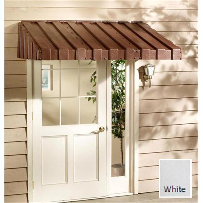 East Iowa Plastics C84WH Door Canopy  84 inch  White