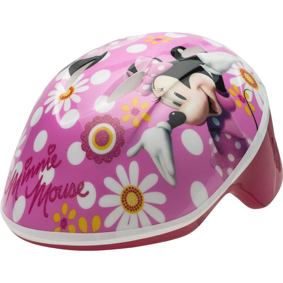 Disney Minnie Mouse Toddler Helmet, Pink