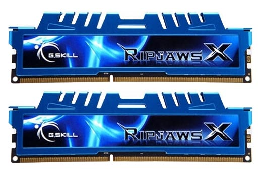 G.Skill F3-1600C9D-16GXM Ripjaws X 16GB (2x8GB) DDR3-1600MHz Memory RAM