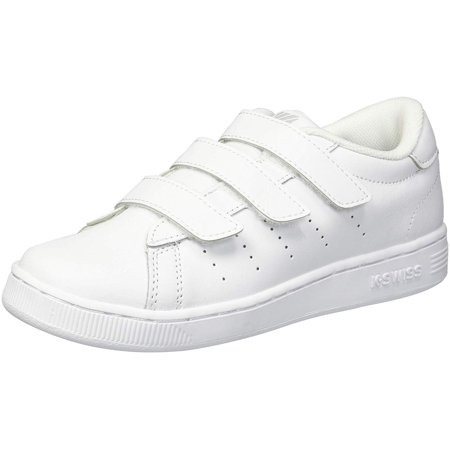 K-Swiss Kids' Clean Court 3-Strap Sneaker