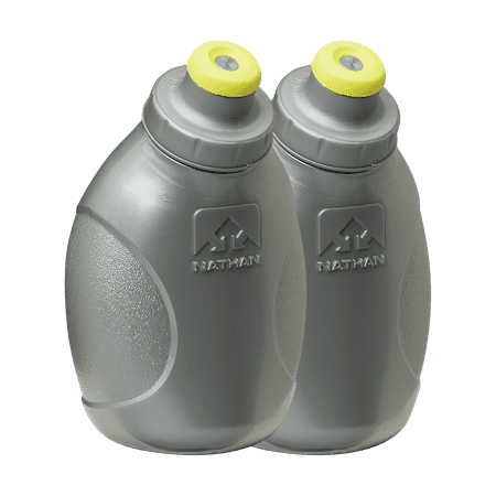 Nathan Nutrition Flask (NATHAN Push-Pull Cap Flask 2 Pack - 10oz/300mL )