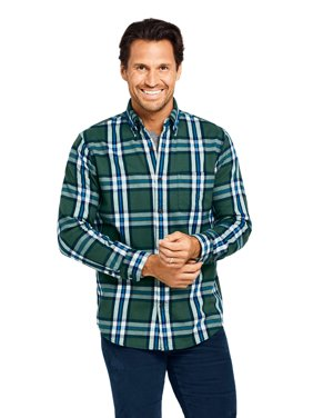 Lands' End Men's Flagship Traditional Flannel