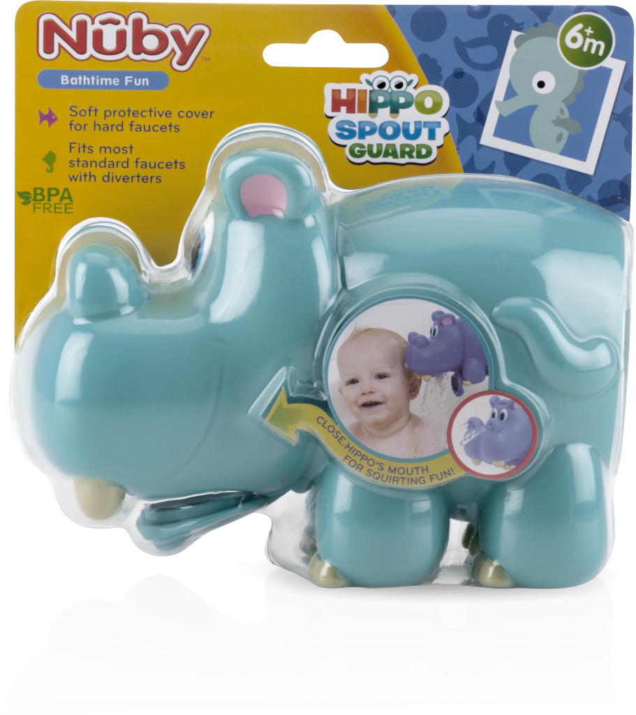 Nuby Hippo Water Spout Guard Case Pack 12 by DOBA Kids Toy