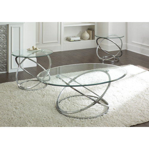 Brady Furniture Industries Riverdale 3 Piece Coffee Table Set