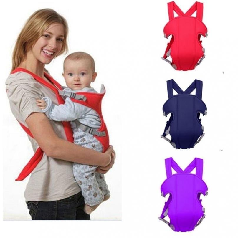 Baby Carrier Infant Newborn Adjustable Sling Comfort Backpack Buckle