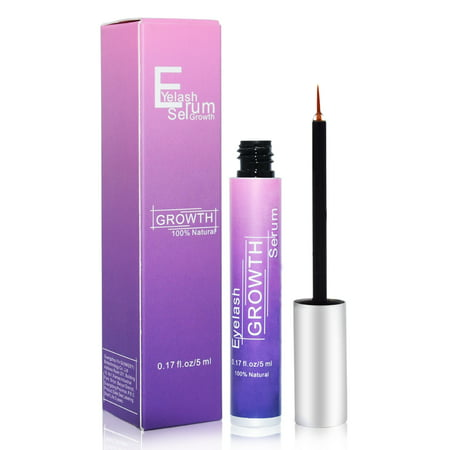 Best Natural Eyelash Growth Serum,Lash Enhancing Formula & Rapid Growing Treatment for Longer, Thick And Strong Lashes 5ML-Fast