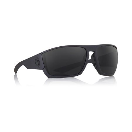 Dragon Cutback Matte Black Frame with H20 Grey Polarized Lens Sunglasses (Dragon Lenses)