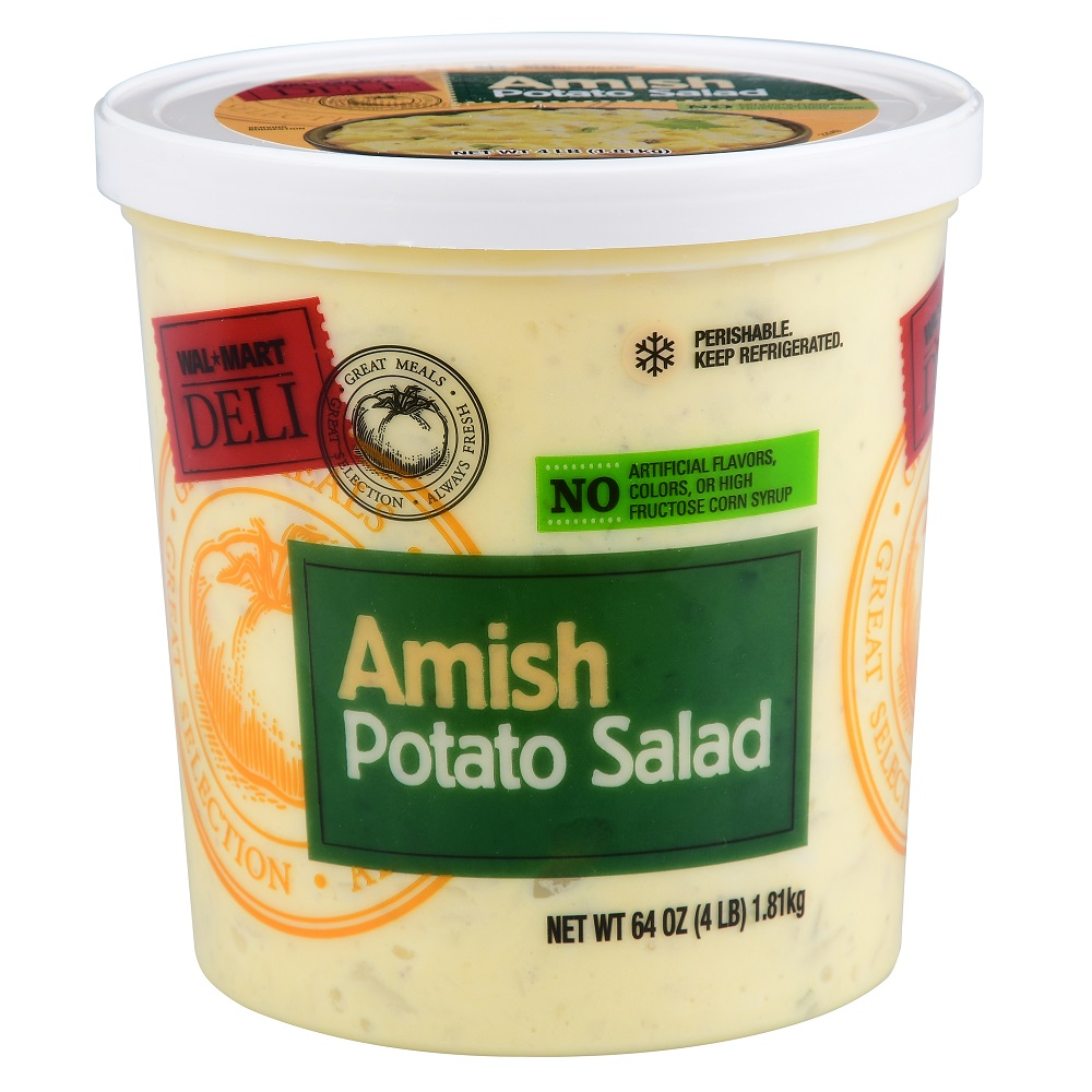 Walmart Deli Amish Potato Salad, 64 oz