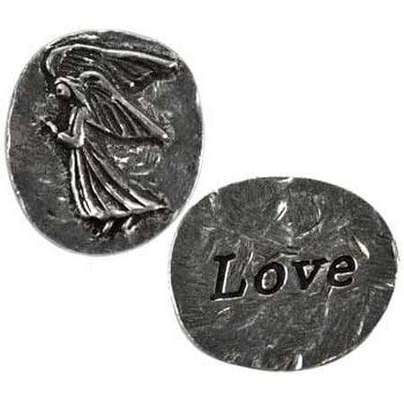 - RBI Jewelry Love Angel Pocket Stone Spiritual Amulet Talisman