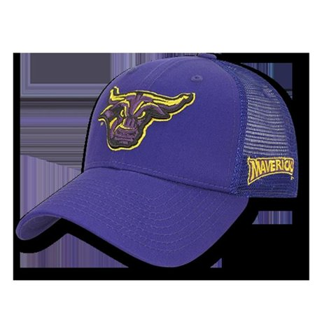 W Republic Apparel 1009-132-PUR Minnesota State Structured Trucker Cap, Purple - image 1 of 1
