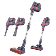 Best Cordless Hardwood Floor Vacuums - JASHEN D18 Cordless Stick Vacuum Cleaner with LED Review