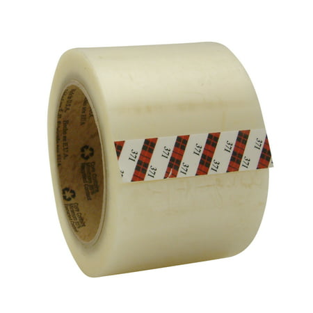 3M Scotch 371 Box Sealing Tape: 3 in. x 110 yds. (Clear) ()