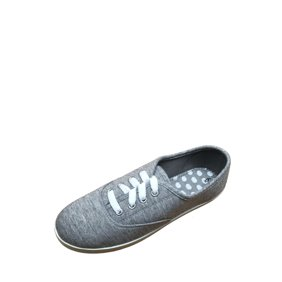 TOMS Women's Avalon Woven Lurex Drizzle Grey Ankle-High Fabric Flat Shoe - 7M 0g8OY