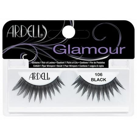 (Ardell Fashion Lashes, [106] Black 1 pair)