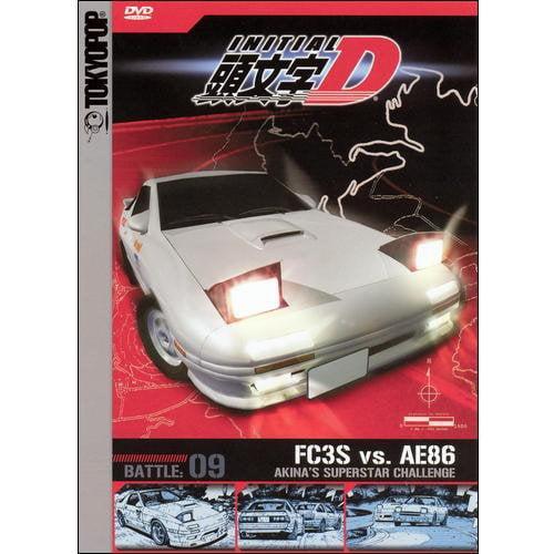 Initial D: Volume 9 - Akina's Superstar Challenge