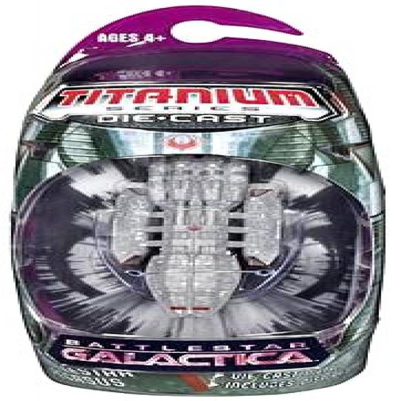 Battlestar Galactica Hasbro Titanium Series 4 Diecast Mini Battlestar Pegasus [2006] by