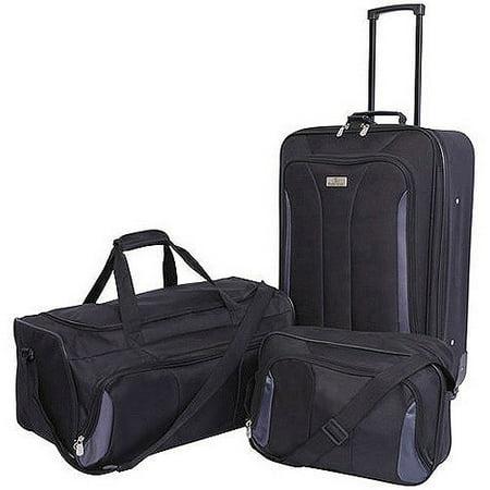 Protege 3-Piece Travel Luggage Set, Multiple Colors - Walmart.com