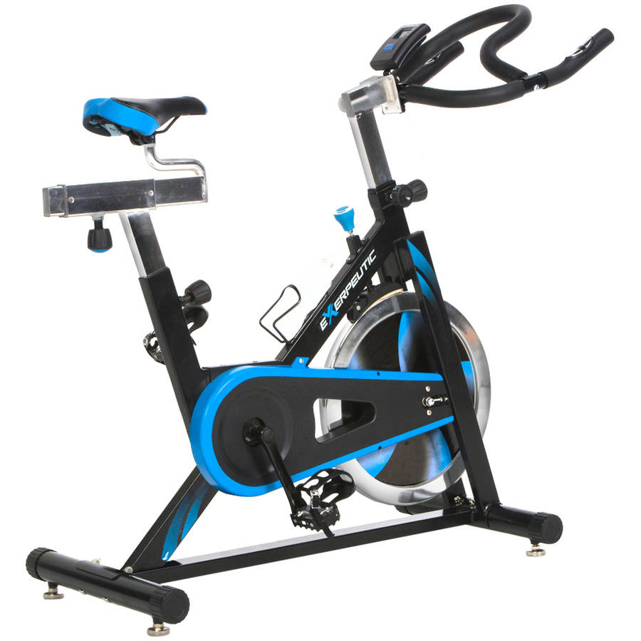 Exerpeutic LX7 Indoor Cycling Exercise Bike with Computer and Heart Pulse Sensors by Generic