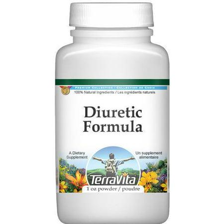 Diurético fórmula en polvo - Java té y cola de caballo (1 oz, ZIN: 514005)