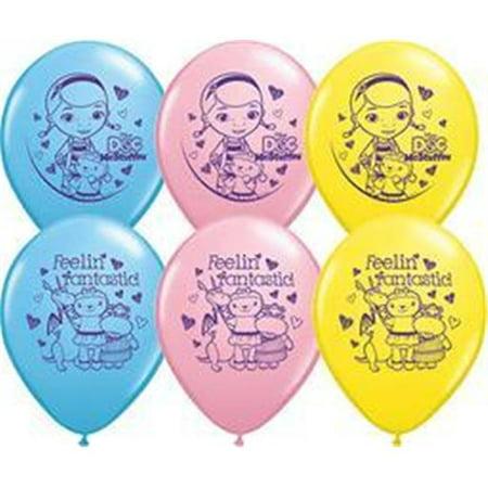 Qualatex 70432 11 in. Doc Mcstuffins Latex Balloon](Doc Mcstuffins Ballons)