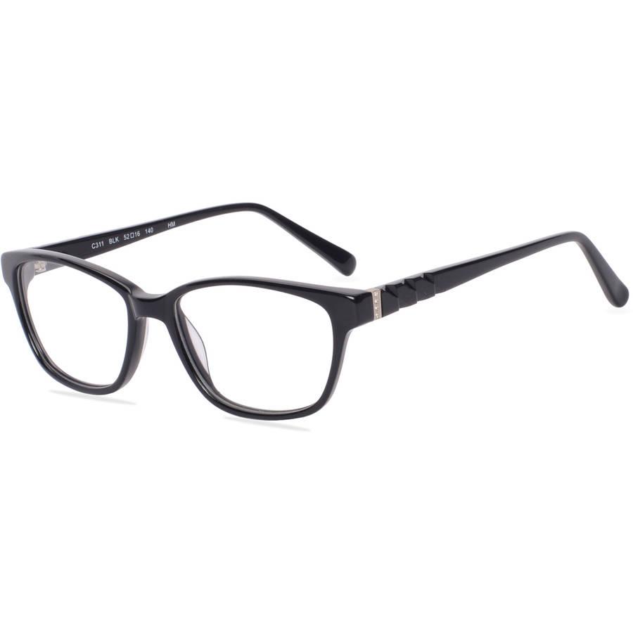 christie brinkley womens prescription glasses c311 black