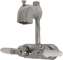 Park Supply of America 191-S-CP Claw Foot Tub Two Handle Claw Foot Tub Faucet