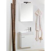 Iotti by Nameeks Lola 21'' Single Wall Mounted Bathroom Vanity Set with Mirror