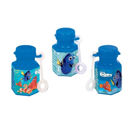 Finding Dory Mini Bubbles (12 Count) - Party Supplies - Dory Birthday