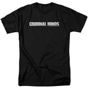 Criminal Minds Logo Mens Short Sleeve Shirt
