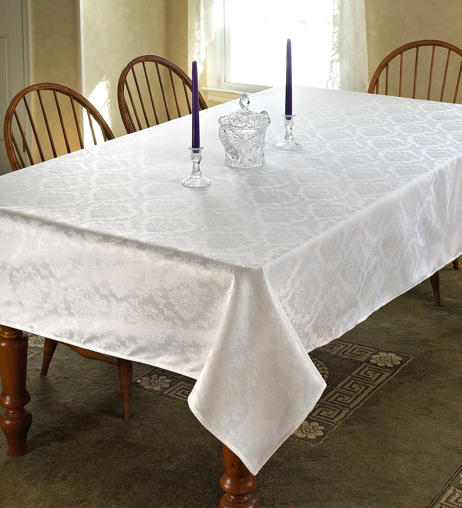 European Damask Design Tablecloth by