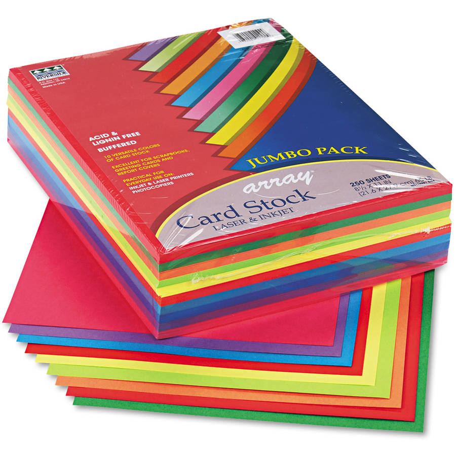 Pacon Array Card Stock, 65lb, Letter, 250 Sheets