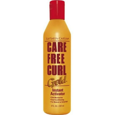 Instant Bond Activator (SoftSheen-Carson Care Free Curl Gold, Instant Activator, 8 oz (Pack of 6) )