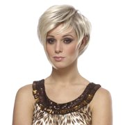Womens Mixed Blonde Victoria Beckham Costume Wig